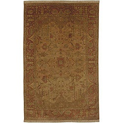 Hand-knotted Istanbul Wool Rug (3'9 x 5'9)