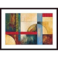 Judeen 'Color Matrix I' Wood Framed Art Print - Thumbnail 0