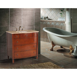 Stufurhome 36-inch Augustine Single Sink Bathroom Vanity