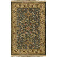 Hand-knotted Sangli Collection Wool Area Rug (2'6 x 10')