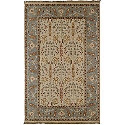 Hand-knotted Legacy Collection Wool Runner (2'6 x 10')