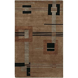 Hand-knotted Riga New Zealand Wool Rug (2'6 x 10')