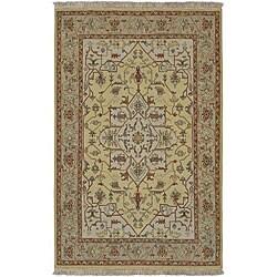 Hand-knotted Sangli Wool Rug (2'6 x 10')
