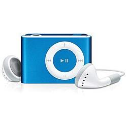 Thumbnail 1, Apple 1GB 2nd Generation Blue iPod Shuffle (Refurbished).