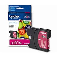 Brother LC61M OEM Cyan Magenta Cartridge