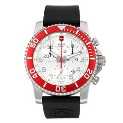 Swiss Army Men's Maverick II Chronograph Stainless Steel Watch - Thumbnail 0