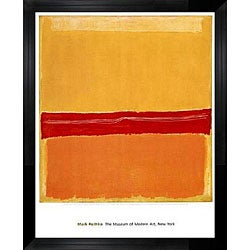Mark Rothko Number 22 Giclee Canvas Print Paintings Poster LARGE SIZE
