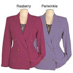 Austin Reed Women S Petite Double Breasted Jacket Overstock 4188375