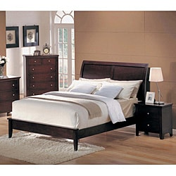 contemporary chocolate espresso 3 piece king bedroom set free