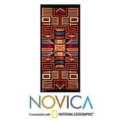 Handmade Wool 'Nazca' Tapestry (Peru)