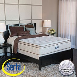 shop serta bristol way pillow top full size mattress and box spring set free shipping today. Black Bedroom Furniture Sets. Home Design Ideas
