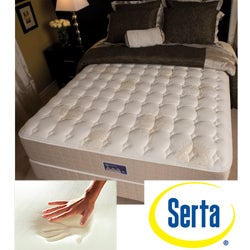 shop serta alleene firm california king size mattress and box spring set free shipping today. Black Bedroom Furniture Sets. Home Design Ideas