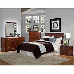 Brooklyn 5-piece Queen Sleigh Headboard Bedroom Set   Overstock.com  Shopping - The Best Deals on Bedroom Sets