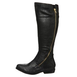 Unlisted by Kenneth Cole Women's 'Saddle Up' Tall Riding Boots - Thumbnail 0