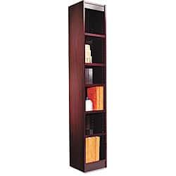 Alera Narrow Profile Bookcase https://ak1.ostkcdn.com/images/products/P12229575.jpg?impolicy=medium