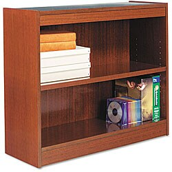 Alera Square Corner Finished Back Bookcase
