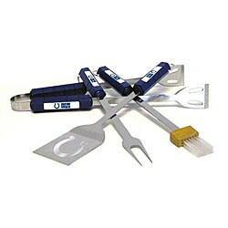 NFL Indianapolis Colts Tailgaters 4-piece Stainless Steel BBQ Grill Tool Set