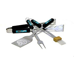 NFL Jacksonville Jaguars Tailgaters 4-piece BBQ Grill Tool Set