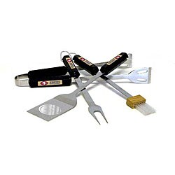 NFL San Francisco 49ers Tailgaters 4-piece BBQ Grill Tool Set