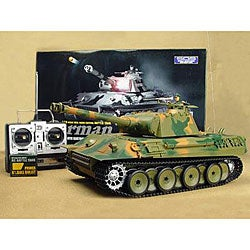 Airsoft Remote Control German Panther Battle Tank - Thumbnail 0