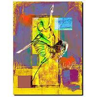 Miguel Paredes 'Ballerina' Canvas Art