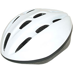 Adult White 1500 ATB Bicycle Helmet (54-58 cm)