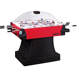 Red Signature Stick Hockey with Pedestal Base