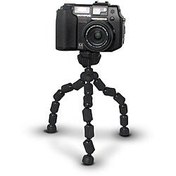 Q:Electronics Charcoal Black Flexible Tripod
