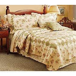Greenland Home Fashions Bliss Complete 7-piece Bed in a Bag with Sheet Set - Thumbnail 0