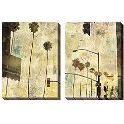 Gallery Direct Sara Abbott 'Riviera Drive' Oversized Canvas Art Set