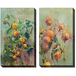 Gallery Direct Allyson Krowitz 'Tropical Elements' Oversized Canvas Art Set