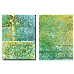 Gallery Direct Caroline Ashton 'Aqueous III & IV' Oversized Canvas Art Set