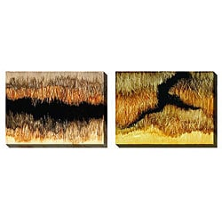 Gallery Direct Caroline Ashton 'Escapism' Oversize Canvas 2-piece Art Set