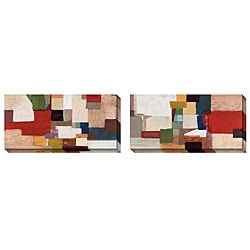 Gallery Direct Bailey 'Section Arc' Oversize Canvas 2-piece Art Set