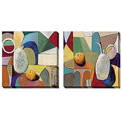 Gallery Direct Bailey 'Still Life with Fruit' Oversized Canvas Art Set