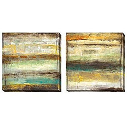 Gallery Direct Jane Bellows 'Provoke' Oversized Canvas Art Set