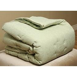 Bella Sage 3-piece Mini Comforter Set - Thumbnail 0