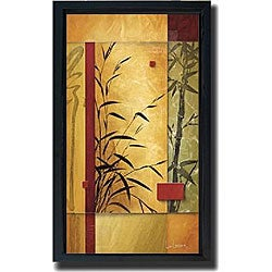 Don Li-Leger 'Garden Dance II' Framed Canvas Giclee Art