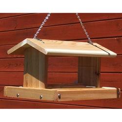 Stovall Medium Mixed Seed Hanging Birdfeeder - Thumbnail 0