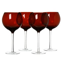 Certified International Ruby 28-oz Red Wine Glasses (Set of 8)