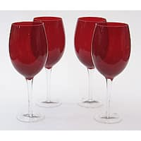 Certified International Ruby 20-oz White Wine Glasses (Set of 8)