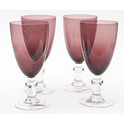 Certified International Amethyst 16-oz Goblets (Set of 8) - Thumbnail 0