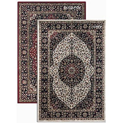 Artist's Loom Hand-tufted Traditional Oriental Wool Rug (2'6x7'6)