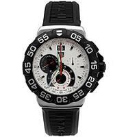 Tag Heuer Men's  'Formula 1' Chronograph Black Rubber Watch