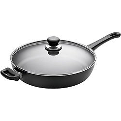 Scanpan 12.5-inch Covered Saute Pan