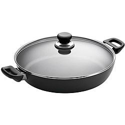 Shop Scanpan 12 5 Inch Saute Chef Pan With Lid Free