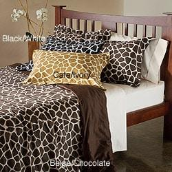Regal Animal Cotton 3-piece Duvet Cover Set