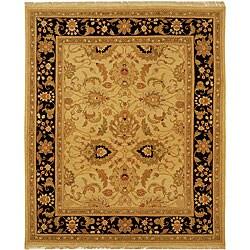 Handmade Indo Sumak Flatweave Mastery Rug (6' x 9')