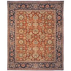 Oushak Hand-knotted 'Treasures' Karkan Wool Rug (5' x 7' 6)