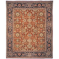 Heirloom Hand-knotted 'Treasures' Karkan Wool Rug (8' x 10')